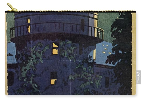 Chicago Poster, 1925 Carry-all Pouch