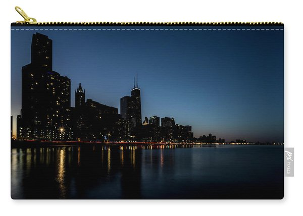 Chicago Skyline From Olive Park  Carry-all Pouch