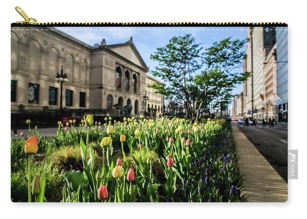 Chicago's Art Institute One Early Spring Morning Carry-all Pouch