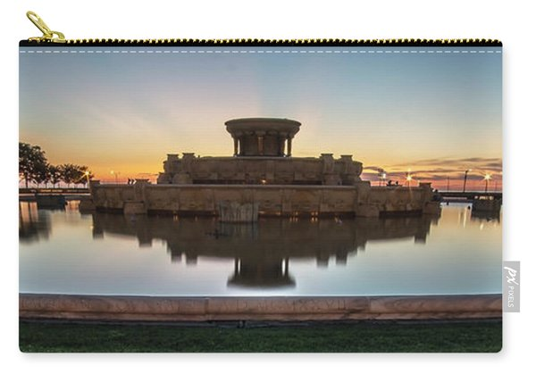 Chicago's Buckingham Fountain At Dawn  Carry-all Pouch