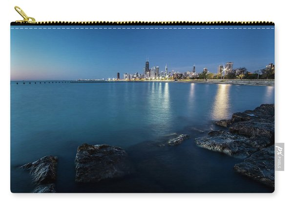 Chicago's Lakefront And Skyline At Dawn  Carry-all Pouch