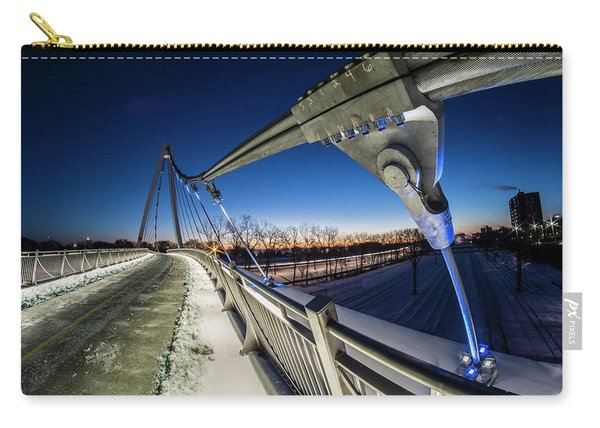 Chicago's New 35th Street Ped Bridge At Dawn Carry-all Pouch