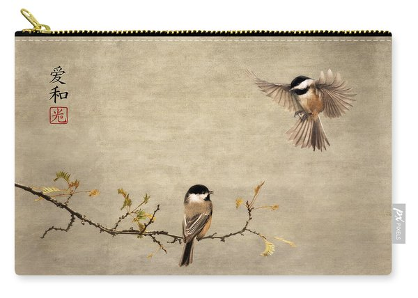 Chickadee Encounter II Carry-all Pouch