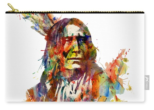 Chief Mojo Watercolor Carry-all Pouch