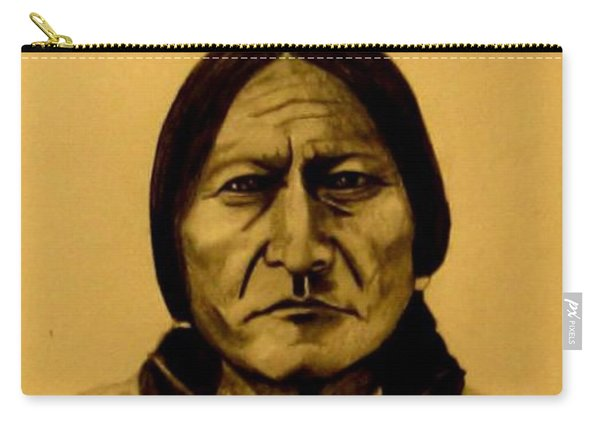 Chief Sitting Bull  Tatanka Iyotake Carry-all Pouch