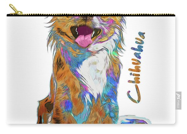 Chihuahua Pop Art Carry-all Pouch