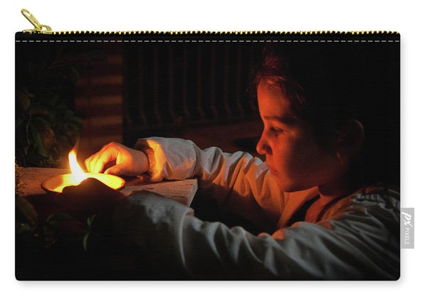 Child In The Night Carry-all Pouch