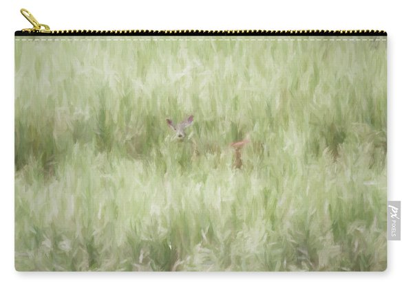 Child Of The Meadows Carry-all Pouch