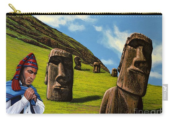 Chile Easter Island Carry-all Pouch