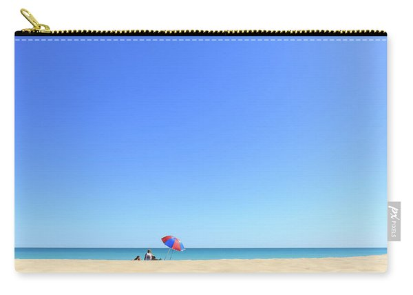 Chilling At Cable Beach Carry-all Pouch
