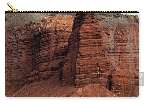 Chimney Rock In Capital Reef Carry-all Pouch