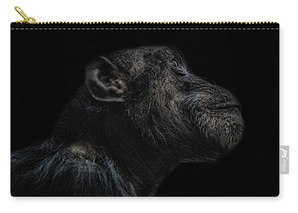 Chimp Thinking Carry-all Pouch