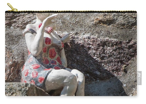 China Girl Carry-all Pouch