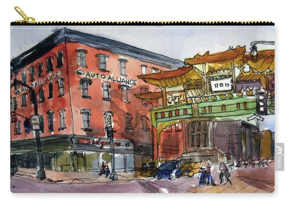 Chinatown In Dc Carry-all Pouch