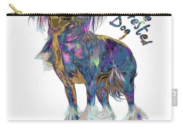 Chinese Crested Dog Pop Art Carry-all Pouch