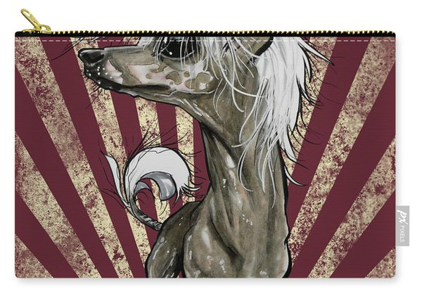 Chinese Crested Revolution Carry-all Pouch