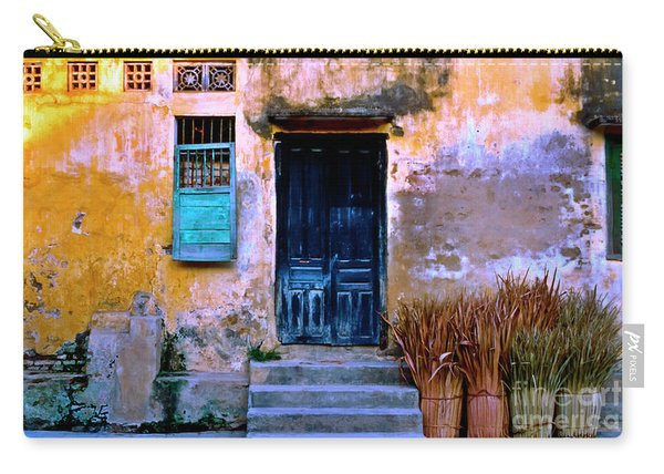 Chinese Facade Of Hoi An In Vietnam Carry-all Pouch