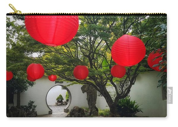 Chinese Tea Garden In Portland, Oregon Carry-all Pouch