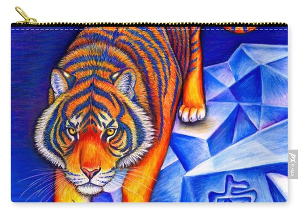 Chinese Zodiac - Year Of The Tiger Carry-all Pouch