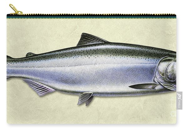 Chinook Salmon Id Carry-all Pouch
