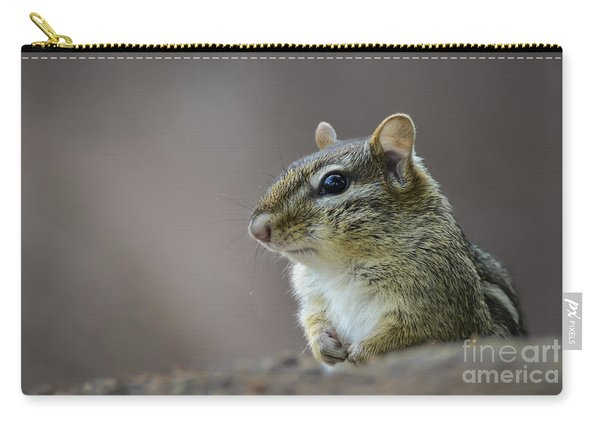 Chipmunk Profile Carry-all Pouch