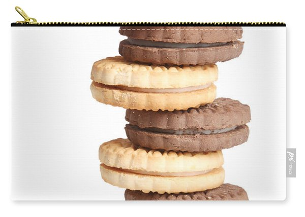Chocolate And Vanilla Creamed Filled Cookies  Carry-all Pouch