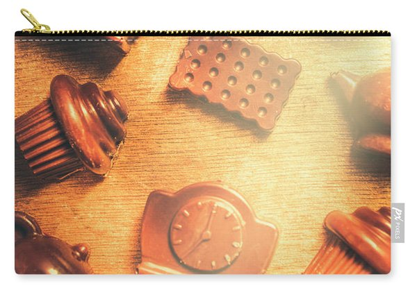 Chocolate Cafe Background Carry-all Pouch