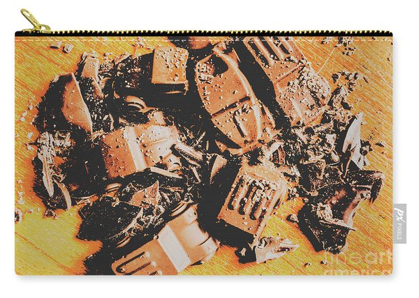 Chocolate Demolition Derby Carry-all Pouch