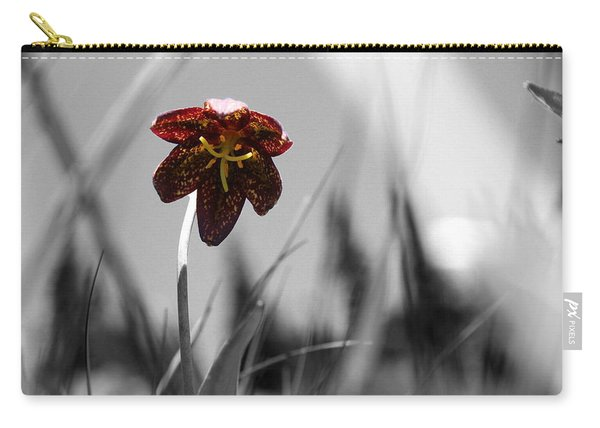 Chocolate Lily Three Carry-all Pouch