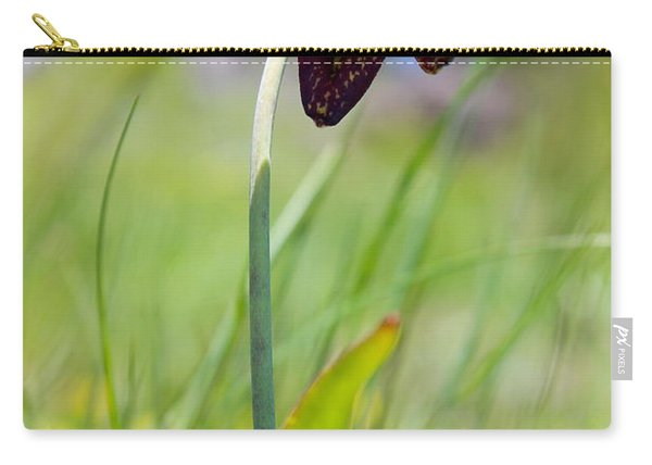 Chocolate Lily Two Carry-all Pouch
