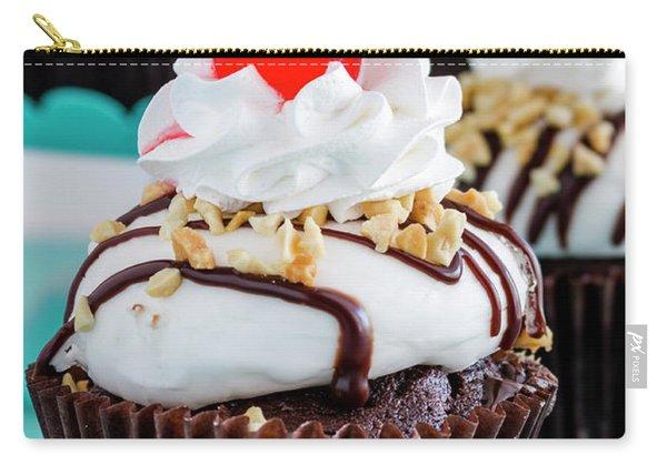 Chocolate Sundae Cupcakes Carry-all Pouch