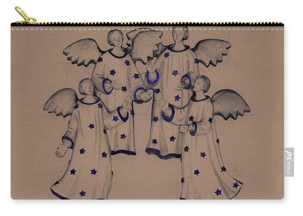 Choir Of Angels Carry-all Pouch
