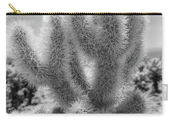 Cholla Cactus Bw Carry-all Pouch