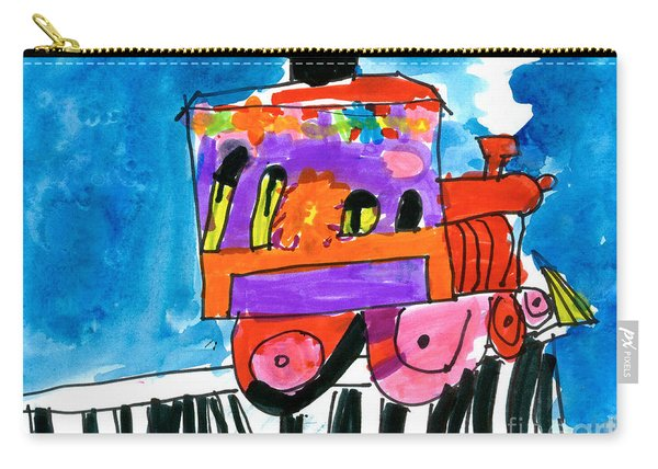 Choochoo Train Carry-all Pouch