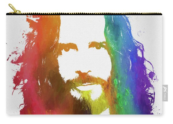 Chris Cornell Color Tribute Carry-all Pouch