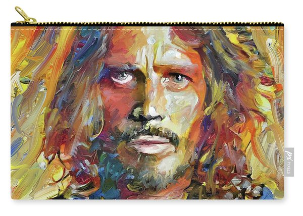 Chris Cornell Tribute 2017 Portrait Carry-all Pouch