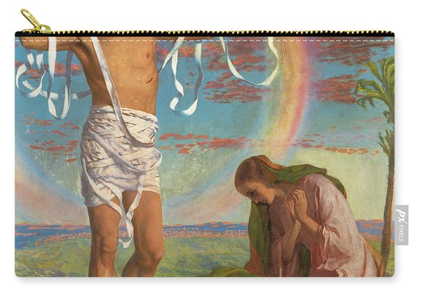 Christ And The Two Marys Carry-all Pouch
