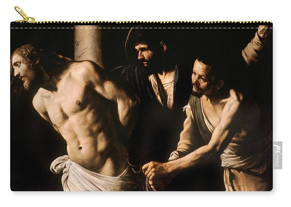 Christ At The Column Carry-all Pouch