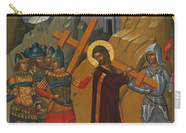 Christ Bearing The Cross Carry-all Pouch