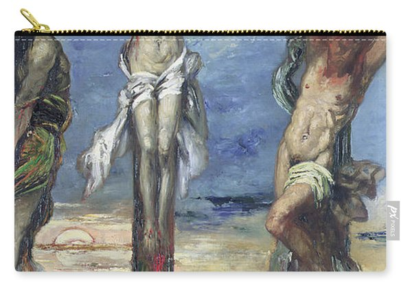 Christ Between The Two Thieves Carry-all Pouch