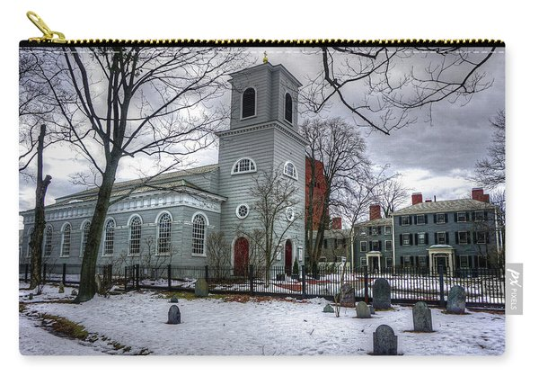 Christ Church In Cambridge Carry-all Pouch