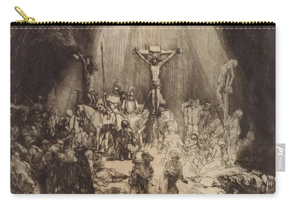 Christ Crucified Between The Two Thieves  The Three Crosses, 1653 Carry-all Pouch