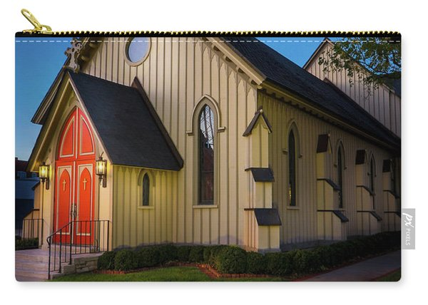 Carry-all Pouch featuring the photograph Christ Episcopal Church by Allin Sorenson