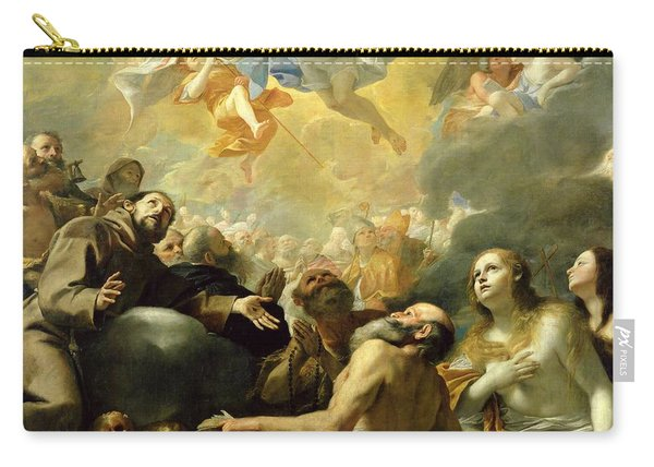 Christ In Glory With The Saints Carry-all Pouch
