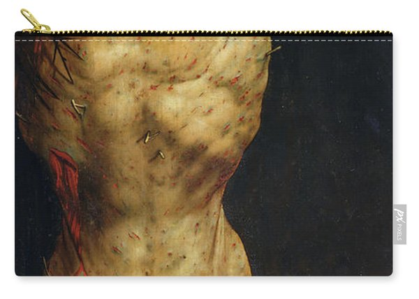 Christ On The Cross Carry-all Pouch