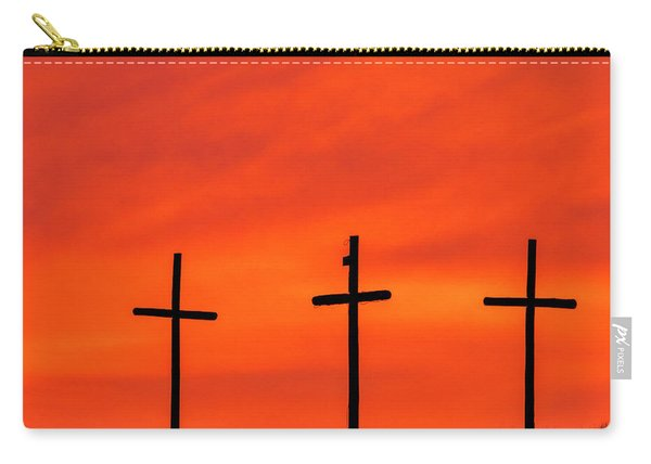 Carry-all Pouch featuring the photograph Christ Pilot Me Hill -02 by Rob Graham
