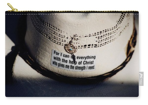 Christian Cowboy Carry-all Pouch