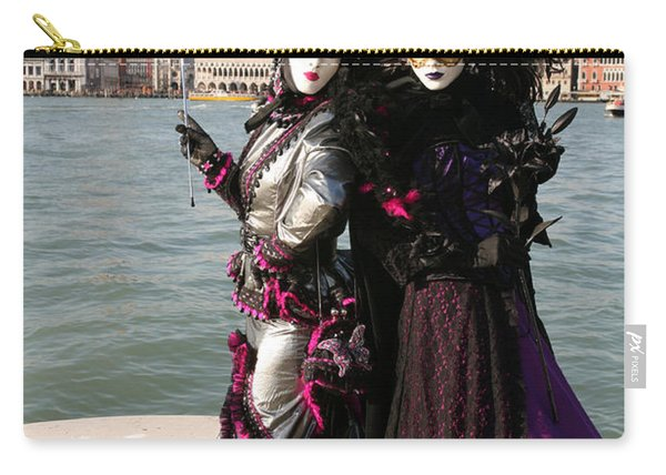 Christine And Gunilla Across St. Mark's  Carry-all Pouch