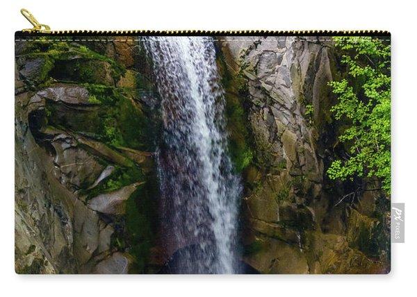 Christine Falls Mt Rainier Carry-all Pouch