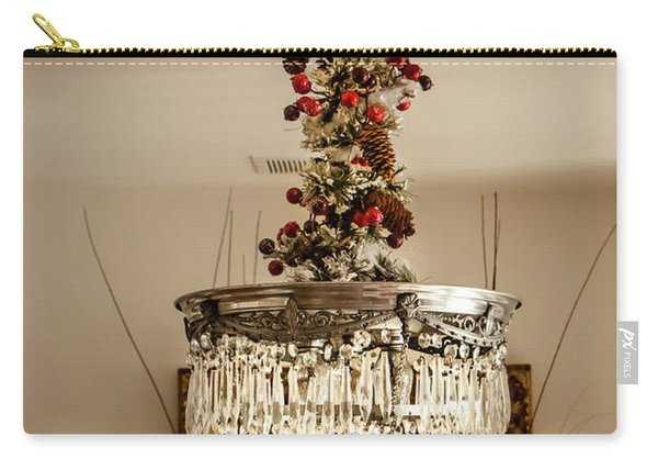 Christmas Antique Chandelier Carry-all Pouch